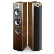 Focal Chorus 716 2.5-Way Bass Reflex Floor Standing Speakers, Walnut, Pair