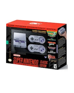 Super Nintendo Entertainment System Classic Edition - Games Included!