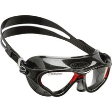 Cressi Cobra Adult Swim Mask, Black Skirt, Tinted Lenses
