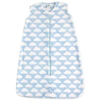 Hudson Baby Size 0-6M Plush Sleeping Bag in Sky Blue