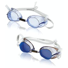 Speedo Swedish Goggle 2-Pack - Blue And Mirror And Silicone