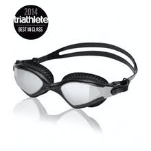 Speedo Mdr 2.4 Mirrored Goggle - Black/Black/Silver Mirror One Size
