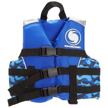 Swimline Uscg Approved Life Vest - Weighs To 30-50 Lbs.