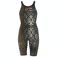 Arena Women's Limited Edition Powerskin Carbon Air2 Full Body Open Back Tech Suit Swimsuit - Python Elastane/Polyamide